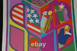1969 Cuban ORIGINAL Silkscreen Movie PosterCrimesKei Kumai Japanese art film