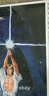 1977 STAR WARS Original Japanese Studio One Sheet Poster 28-5/8 x 40-5/8 NM-Mint