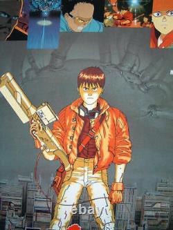 AKIRA Katsuhiro Otomo B2 size Japanese Anime Movie Poster 1988 original