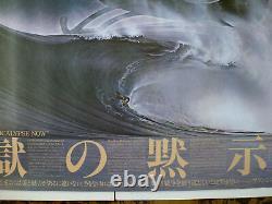 APOCALYPSE NOW (1979) Huge Japanese B0 Film Poster 40x58 Coppola Brando