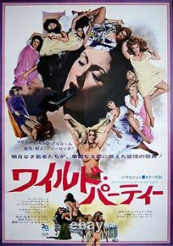 BEYOND THE VALLEY OF THE DOLLS Japanese B2 movie poster RUSS MEYER PAM GRIER NM