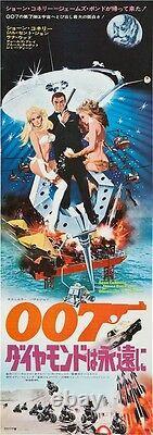 DIAMONDS ARE FOREVER Japanese STB movie poster JAMES BOND SEAN CONNERY McGINNIS