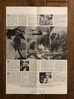 Destroy All Monsters -Original 1968 Japanese B3 Movie Press Poster Godzilla
