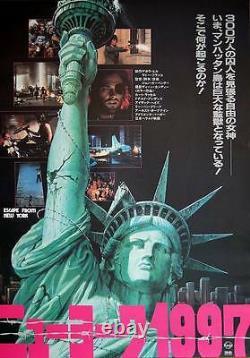 ESCAPE FROM NEW YORK Japanese B2 movie poster B JOHN CARPENTER SNAKE PLISSKEN