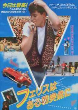 FERRIS BUELLERS DAY OFF Japanese B2 movie poster B JOHN HUGHES 1986 NM