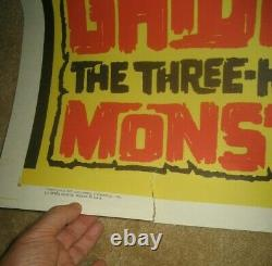 GHIDRAH, THE 3 HEADED MONSTER'65 Japanese monster classic! GODZILLA