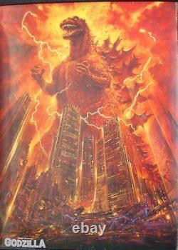 GODZILLA THE RETURN Japanese B1 movie poster 29x41 NORIYOSHI OHRAI Art 1984