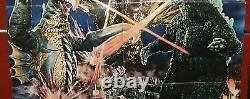 Godzilla vs. Gigan Yuriko Hishimi Toho Orig. Rare Japanese B1 Movie Poster 70s
