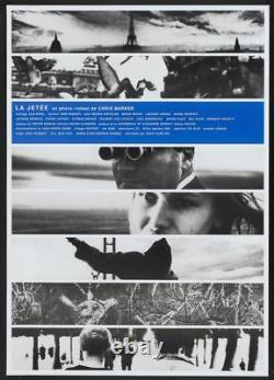 LA JETEE THE PIER Japanese B1 movie poster R99 CHRIS MARKER NM RARE
