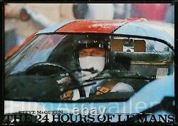 LE MANS 1971 mega-rare Japanese poster Steve McQueen Formula 1 F1 FilmArtGallery