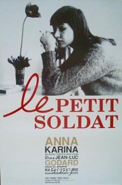 LE PETIT SOLDAT Japanese B2 movie poster R99 JEAN-LUC GODARD ANNA KARINA NM