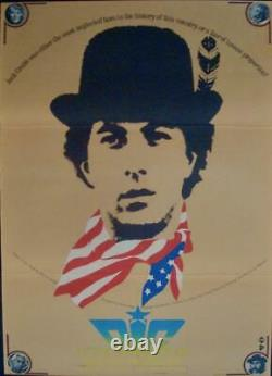 LITTLE BIG MAN Japanese B2 movie poster B DUSTIN HOFFMAN FAYE DUNAWAY 1971 NM