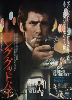 LONG GOODBYE Japanese B2 movie poster ELLIOTT GOULD 1974 NM