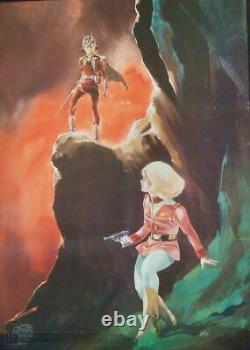 MOBILE SUIT GUNDAM 1 Japanese B2 movie poster A ANIME 1981 RARE