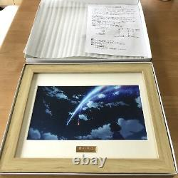 -Mitsuha- Limited picture frame Japanese Anime Your Name Kimi No NA WA Poster