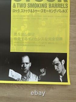 Original lock stock & two smoking barrels b2 japanese Movie poster 1998