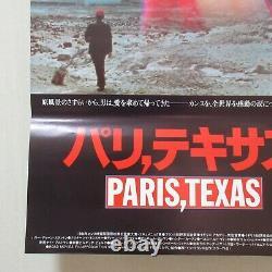PARIS, TEXAS 1985' Original Movie Poster Japanese B2 Nastassja Kinski