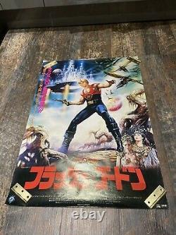 Queen / Freddie Mercury / Flash Gordon Japanese 1981 original film poster rare