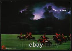 RAN 1985 Rare must-see horizontal teaser Japanese Akira Kurosawa filmartgallery