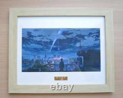 -Ryu- Limited picture frame Japanese Anime Your Name Kimi No NA WA Poster