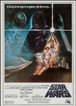 STAR WARS Japanese B2 movie poster style C GEORGE LUCAS TOM JUNG 1978 NM
