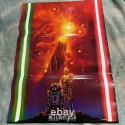 STAR WARS Return of the Jedi Poster Ohrai Noriyoshi Ohrai-art Japanese Movie