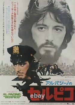 Serpico 1974 Japanese B2 Poster