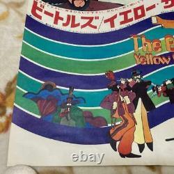 The Beatles Yellow Submarine Animation Movie Poster 1pc 1968 Japanese ver. UK