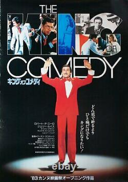 The King of Comedy 1983 Japanese B2 Poster