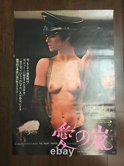 The Night Porter (1974) 20.125 x 28.75 Japanese B2 Movie Poster