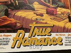 True Romance Movie Poster Art Print Rockin Jelly Bean Japanese BNG sdcc mondo