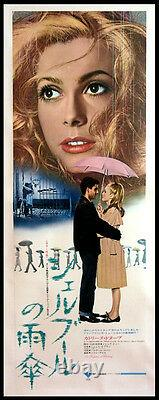 Umbrellas Of Cherbourg Catherine Deneuve Jacques Demy 1973 Japanese Poster