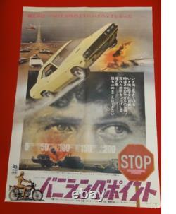 VANISHING POINT Barry Newman JAPAN B2 japanese 1971