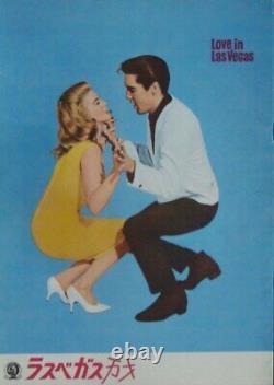 VIVA LAS VEGAS Japanese movie program C ELVIS PRESLEY ANN-MARGRET RARE 1964