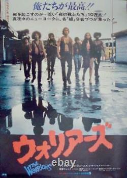 WARRIORS Japanese B2 movie poster 1979 NM